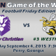 Game 3 Trinity vs Westfield FB 2015