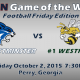 Game 6 Westminster vs Westfield FB 2015