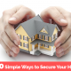 10 Simple ways to secure your home