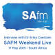 Dr Erika Coertzen SAFM Weekend live 17 May 6.13am